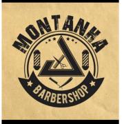 Logomarca Montanha barber shop