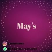 Logomarca may's storex
