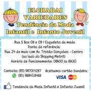 Logomarca Tendência da moda infantil e infanto juvenil