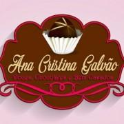Logomarca Ana Cristina Galvão Doces, Chocolates e Bem Casados