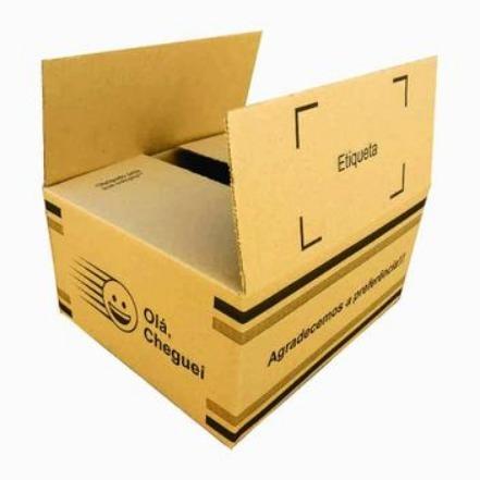 Kit 100 Caixas de Papelão P 300X253X149