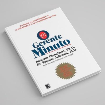 Livro: O Gerente Minuto (livro usado)