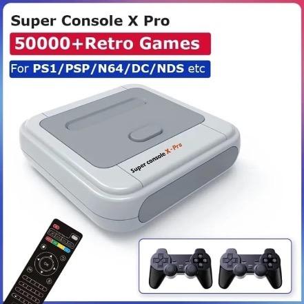 Super Console X Pro 50.000 + Retro Games