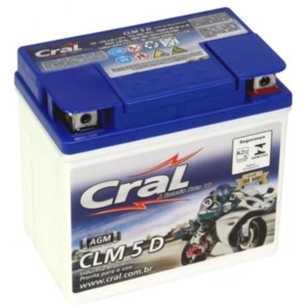 Bateria Moto 5ah Cral