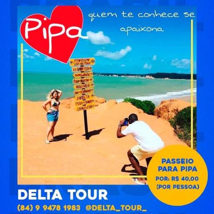 Passeio p/ Praia da Pipa-RN
