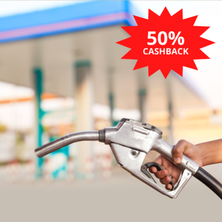 Crédito de R$ 70,00 em combustível