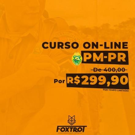 Curso Preparatório Polícia Militar do Paraná -  2020 - PMPR - PM-PR